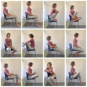 Hoe je moet zitten op een stoel